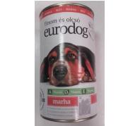 Euro Dogkutyaeledel 415 g konzerv marhás