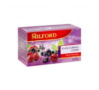 Milfordtea filteres 20x2,5 g f.ribizli-cseresz.