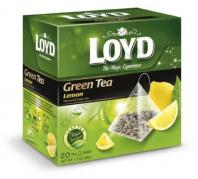 Mokate Loydtea filteres 20x1,7g piramid fek.citrus